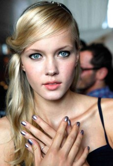 Fashion Week Nail Trends Spring 2013: Must-See Manis At Erin Fetherston, VEDA, and Kaelen
