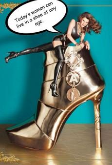 If Ads Could Talk: Anna Dello Russo for H&M