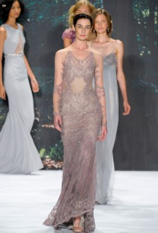 Badgley Mischka Spring 2013 Runway Review