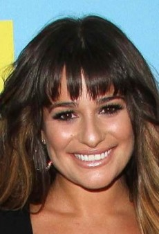 Look of the Day: Lea Michele Vamps It Up in Versace