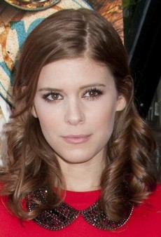 Look of the Day: Kate Mara Revs Up Her Red Miu Miu Dress with a Dannijo Necklace