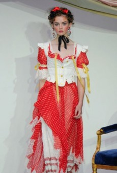 Meadham Kirchhoff Spring 2013 Runway Review