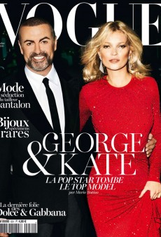 George Michael and Kate Moss on the Cover of Vogue Paris is Music to No One's Ears (Forum Buzz)
