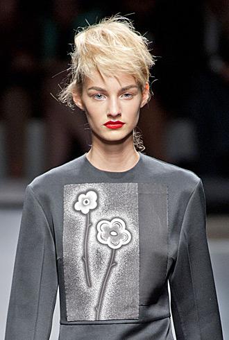 Prada Spring 2013 model exclusives