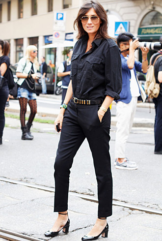 Emmanuelle Alt at MFW