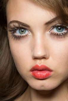 Fluorescent Lips, Pretty Pink Cheeks, and More Must-See Beauty from Milan