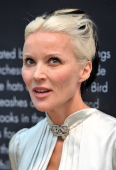Daphne Guinness Is Going to Pay for All Those Baths She's Been Taking