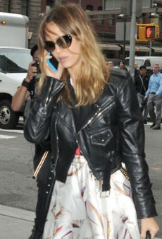 Look of the Day: Jessica Alba Toughens Up in Ralph Lauren