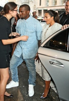 Was Kanye West Too Embarrassed to Bring Kim Kardashian to Paris Fashion Week?