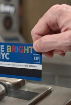The MTA Debuts The First Fully Sponsored Metrocard Ever With a 20% Discount to The Gap