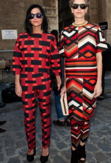 Style Showdown: Leigh Lezark and Elena Perminova Do Giambattista Geometry and More