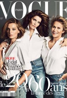 Vogue Paris Celebrates Beauty at Every Age With a Supermodel Trio (Forum Buzz)