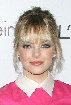 Perk Up Your Face with Emma Stone's Green and Pink Look