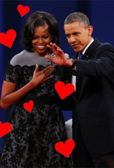 Mobama Sends Nation Powerful Political Message: That Her Dress Is Really Cute