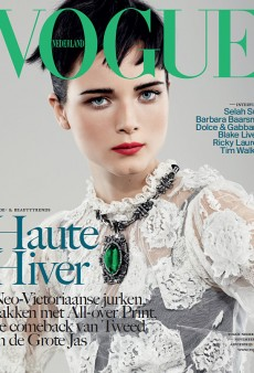 Anna de Rijk Covers Vogue Netherlands' November Issue (Forum Buzz)
