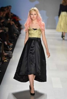 Highlights from Toronto's World Mastercard Fashion Week Spring 2013: Pink Tartan and Adrian Wu