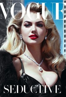 Kate Upton Does Her Bombshell Best on the Cover of Vogue Italia's November Issue (Forum Buzz)