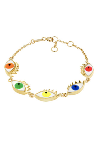 Delfina Delettrez eye bracelet