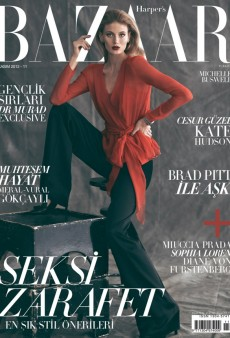 Remember Michelle Buswell? She's on the November Cover of Harper's Bazaar Turkey (Forum Buzz)