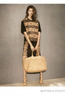 Bette Franke Models Bottega Veneta's Resort 2013 Collection (Forum Buzz)