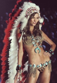 Link Buzz: Karlie Kloss Wore a Headdress on the VS Runway & FYI Chanel Iman Voted