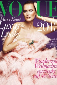 Toni Garrn Looks Weird on the Cover of Vogue Germany's December Issue (Forum Buzz)