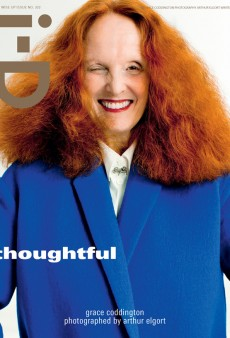 Grace Coddington is the Best Cover Model I-D Has Had All Year (Forum Buzz)