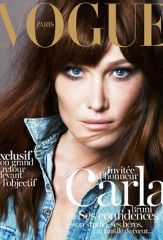 Carla Bruni Covers Vogue Paris' December/January Cover (Forum Buzz)