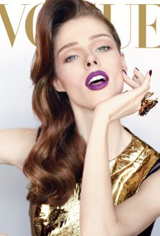 This is Why Coco Rocha's Famous: Vogue Mexico December 2012