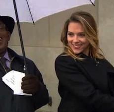 Watch Scarlett Johansson Do the Weather for Al Roker (Adorably)