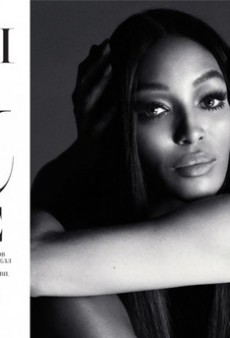 Naomi Campbell and Kate Moss Pose Topless for Interview Russia