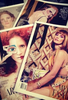 Was Jessica Chastain the Right Choice for the Mickalene Thomas W Mag Covers?
