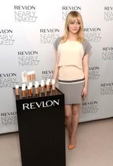 Look of the Day: Emma Stone Promotes Revlon in Daniel Vosovic