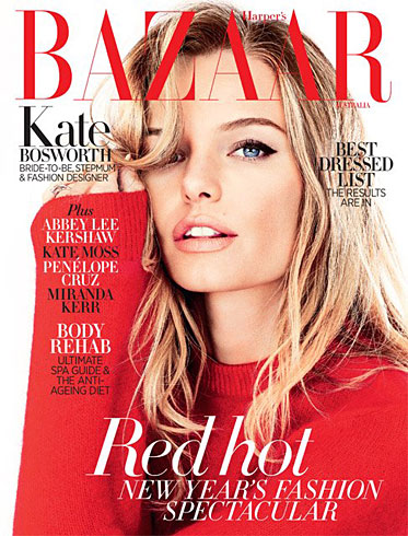 Harper's Bazaar Australia January 2013 - Kate Bosworth