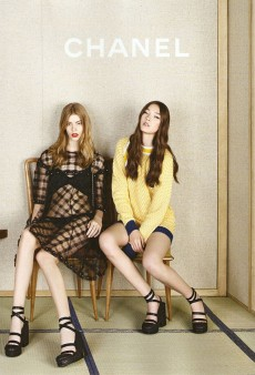Karl Lagerfeld Likes 'Em Young in the Chanel Spring 2013 Ad Campaign (Forum Buzz)