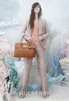 Meghan Collison Stars in an Ethereal Under-the-Sea-Style Spring 2013 Campaign for Mulberry (Forum Buzz)