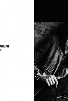 Part Two of Saint Laurent Paris' Spring 2013 Campaign Features the Welcome Addition of Edie Campbell and Beck Hansen [VIDEO]