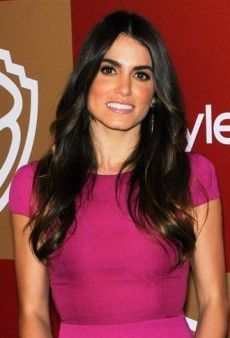 Look of the Day: Nikki Reed Parties in Bright Minimalistic Jenni Kayne Gown