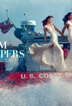 Vogue's Annie Leibovitz-Lensed Hurricane Sandy Editorial: Tribute or Tasteless?