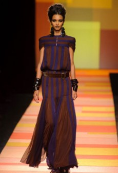 Jean Paul Gaultier Haute Couture Spring 2013: A Little Parisian, a Little Moroccan, a Little All Over the Place