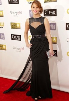 Oscar Nominee Jennifer Lawrence's Erratic Red Carpet Style