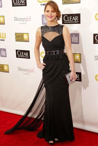 Jennifer Lawrence 18th Annual Critics Choice Awards Jan 2013 cropped