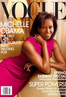 Link Buzz: Mobama to Cover Vogue in March?; Let's Talk About Leather