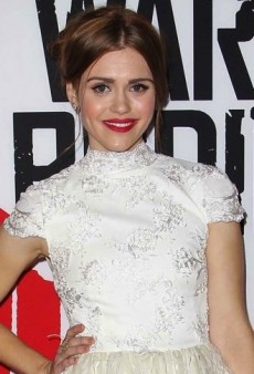 Look of the Day: Holland Roden Turns Up the Texture in Alice + Olivia