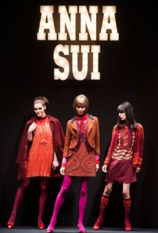 Anna Sui Fall 2013 Runway Review