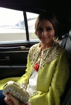 Olivia Palermo on the Way to Marchesa and Other Celeb Twitpics of the Week