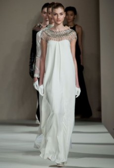 Temperley London Fall 2013 Runway Review
