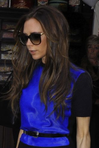 Look Of The Day Victoria Beckham Serves As Her Own Best