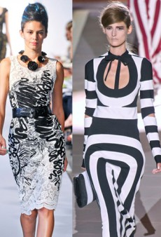 Spring Style Notes: Graphic Black & White