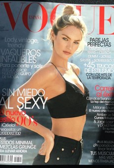 Candice Swanepoel Looks Her Best (EVER) on This 90s-Style Vogue Spain Cover (Forum Buzz)